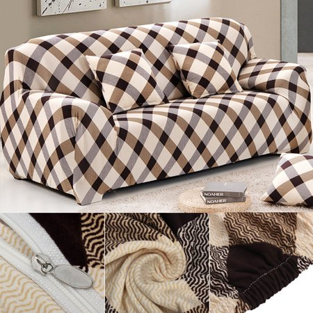4 Size Slip Resistant Furniture Protector Couch Slip Cover