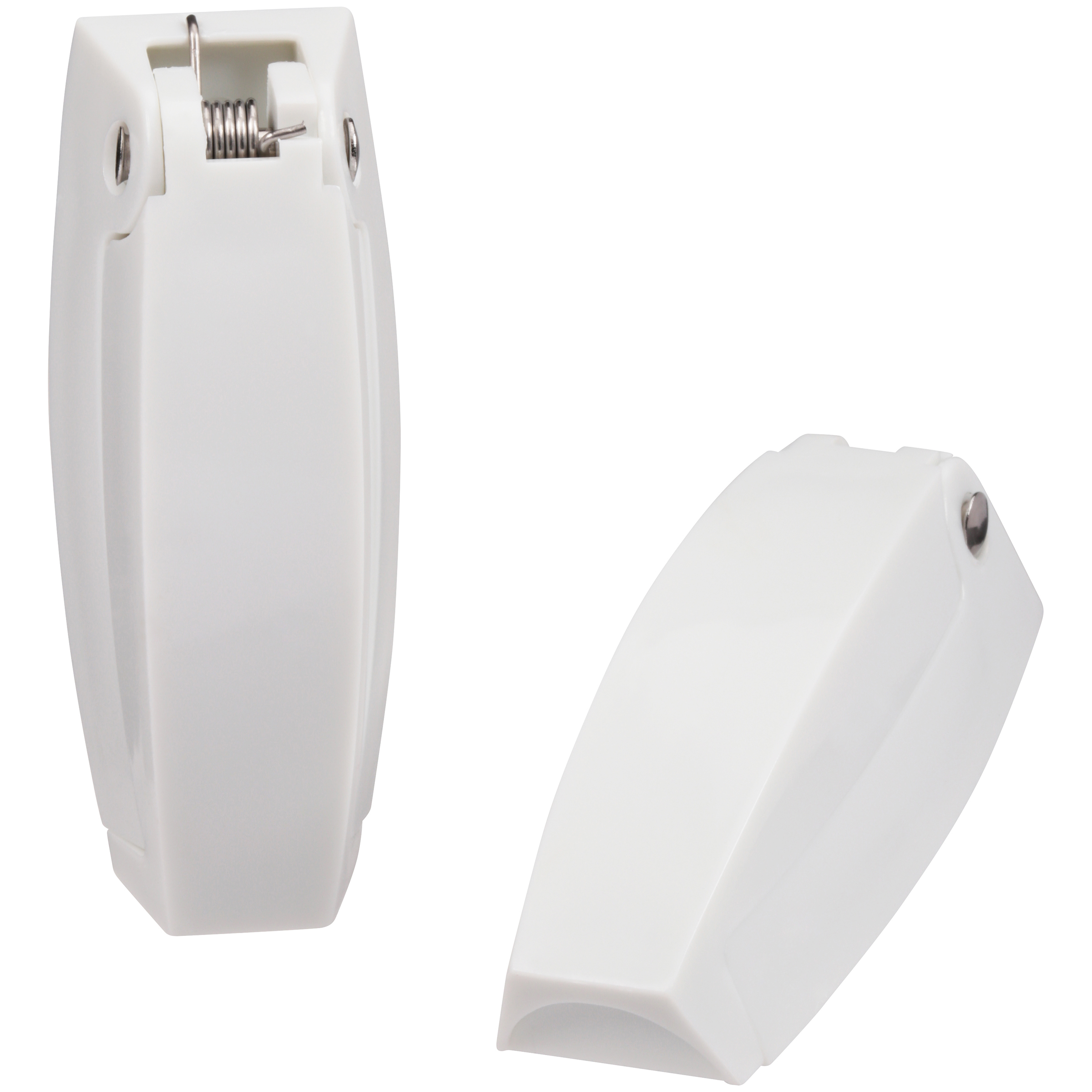 Camco Polar White Baggage Door Catch 2 ct Carded Pack