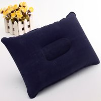 """Inflatable Travel Camping Air Pillow  PVC Comfortable Cushion Protect Head Neck 240x345mm 9.5*13.5"""""""