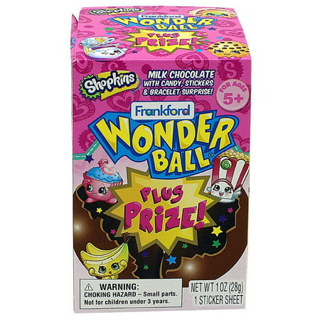 Wonder Ball plus Prize - Shopkins