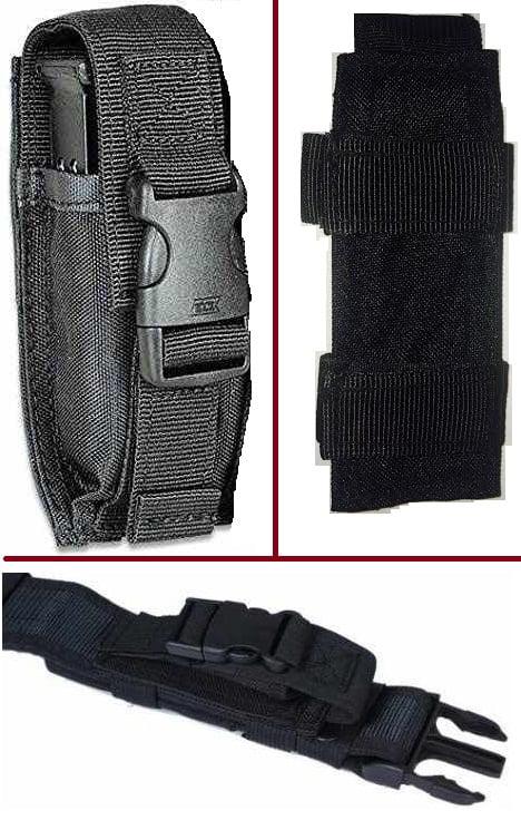 Ultimate Arms Gear Tactical Black Glock Single 9mm .40 S&W .45 ACP Hi-Cap Pistol Handgun Caliber Magazine Mag Nylon Cell... by