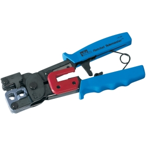 IDEAL RATCHET CRIMP TOOL FOR MODULAR PLUGS