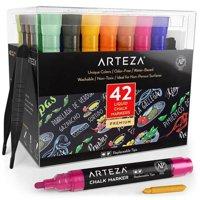 Arteza Liquid Chalk Markers - Set of 42