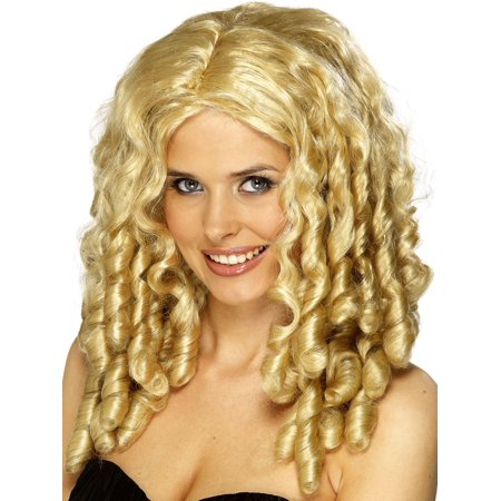 BLONDE STARLET WIG diva bo peep storybook womens goldilocks ringlets costume - Little Bo Peep Costume Toy Story Womens