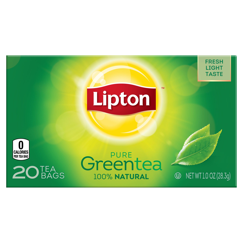 Lipton Pure Green Tea Bags 20 ct