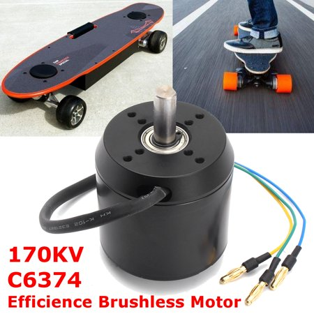 High Efficience Brushless Motor 170KV C6374 for Electric Skateboard