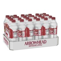 Arrowhead Sparkling Water, Black Cherry, 16.9 oz. Bottles (24 Count)