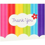 Rainbow Wishes Thank-You Notes, 8pk
