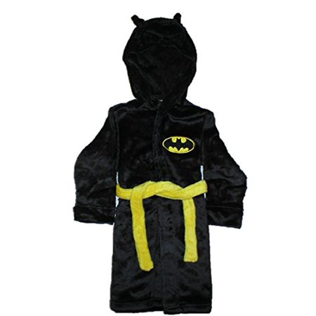 Komar Kids Little Boys' Batman Fleece Robe with Mask (3t) - Batman Robe