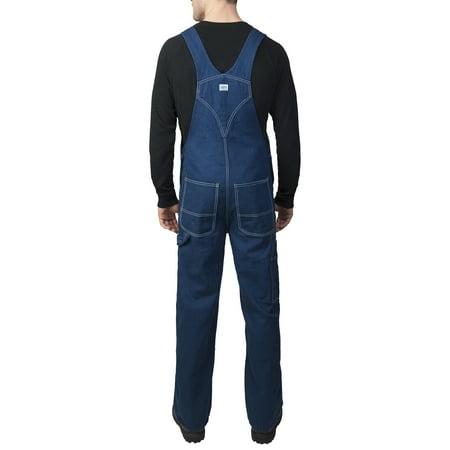 tulokas hyvännäköinen halpa myytävänä Men's 100% Cotton Rigid Denim Bib Overall