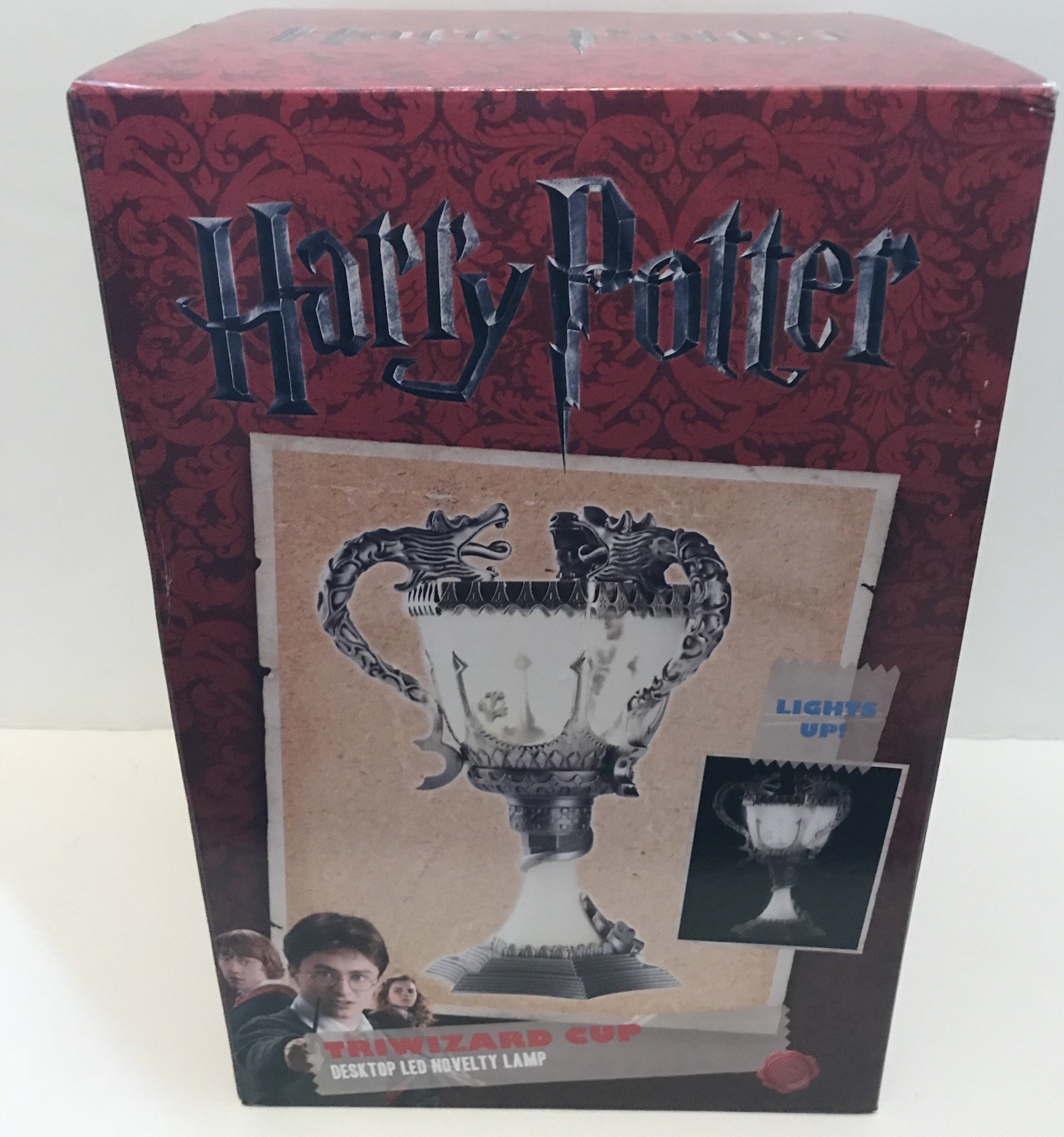Harry Potter Triwizard Cup Lamp Silver