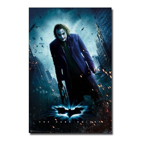 The Dark Knight Movie (Joker Standing) Poster New