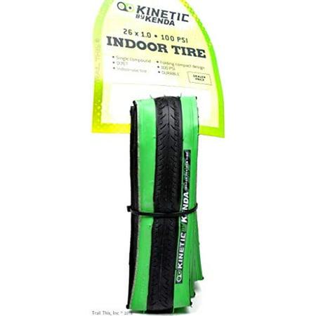 Kinetic by Kurt Kenda Trainer Tire (26-Inch x 1-Inch, Black/Green) - image 1 of 1