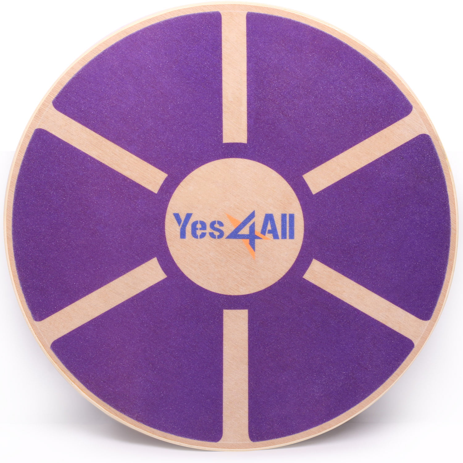 Yes4All Wooden Balance Board Wobble � Exercise Balance Trainer (15.75-inch Diameter) by Supplier Generic
