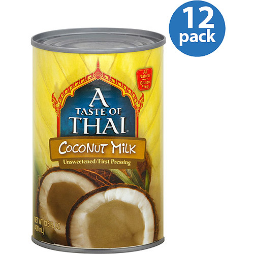 A Taste of Thai Coconut Milk, 13.5 oz, (Pack of 12) by Generic