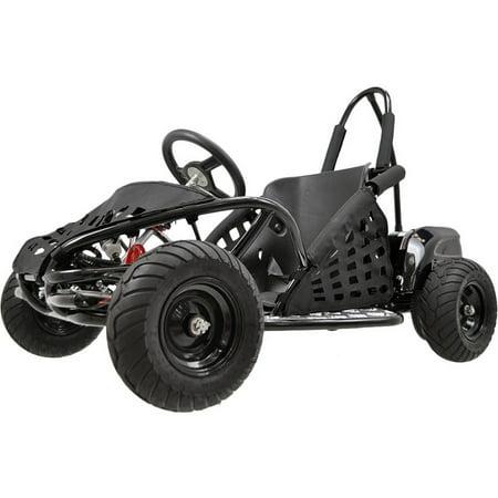 Off Road Go Kart Suspension - MotoTec Off Road Go Kart 48v 1000w Black