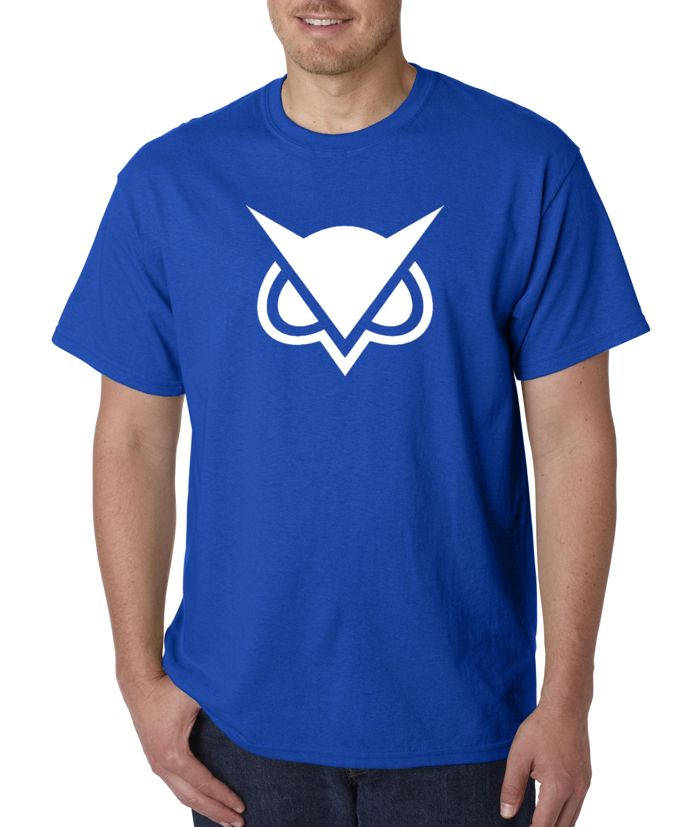 747 - Unisex T-Shirt Vanoss Owl Gaming VG Logo 2XL Royal Blue