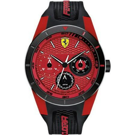 Ferrari Scuderia REDREV Silicone Mens Watch 0830255