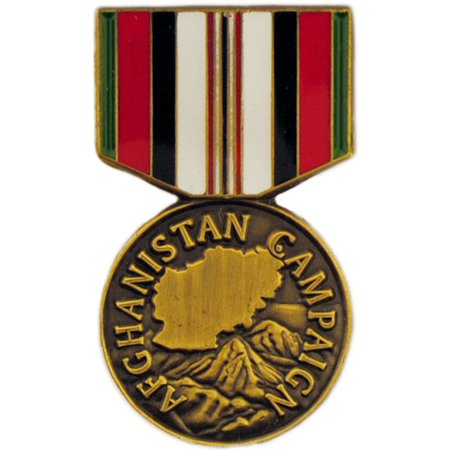 Afghanistan Campaign Medal Pin