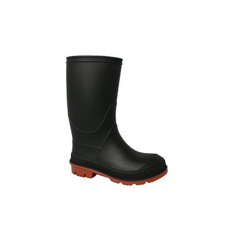 Kid's Chain-Link Sole Chore Rain Boot (Coaxial Rubber Boot)