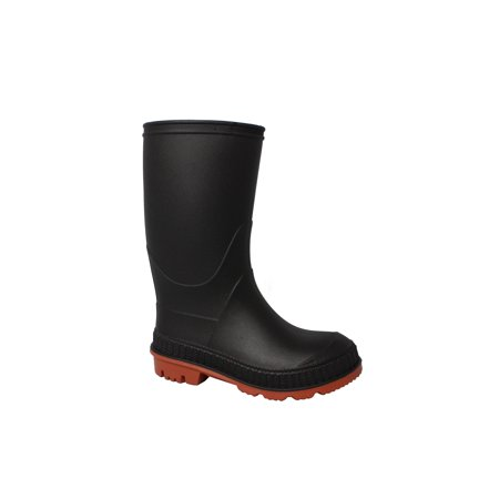 Kid's Chain-Link Sole Chore Rain Boot
