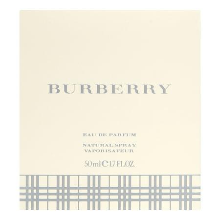 Burberry Eau de Parfum, Perfume for Women, 1.7 Oz