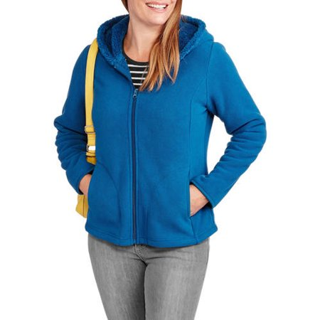UPC 821796280557 Faded Glory Women's Microfleece Hoodie