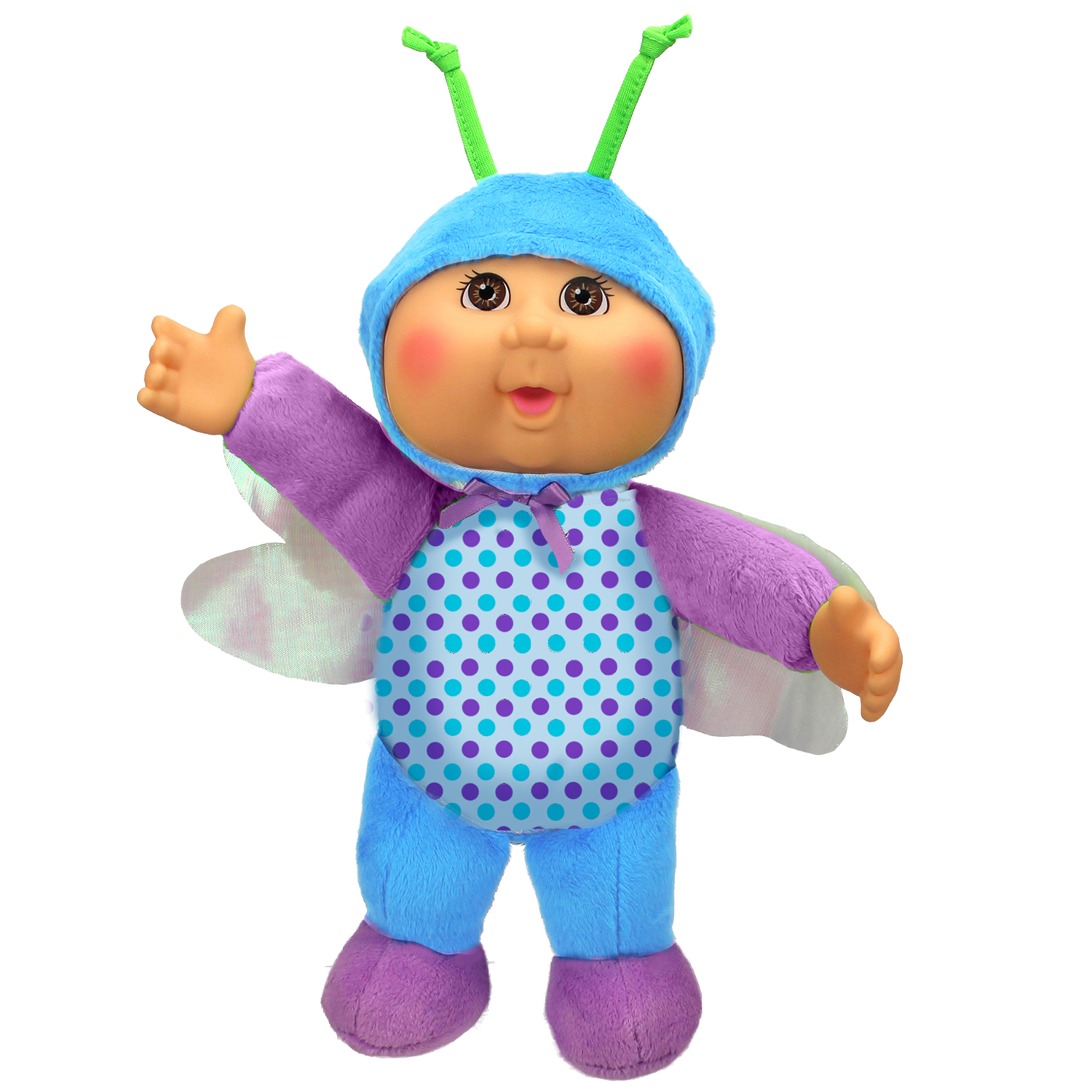 Cabbage Patch Kids Cuties Bluebell Dragonfly 9 Inch Soft Body Baby Doll Garden Party Collection by