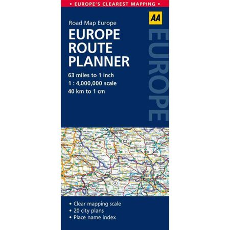 Road Map Europe Route Planner (Aa Road Map)