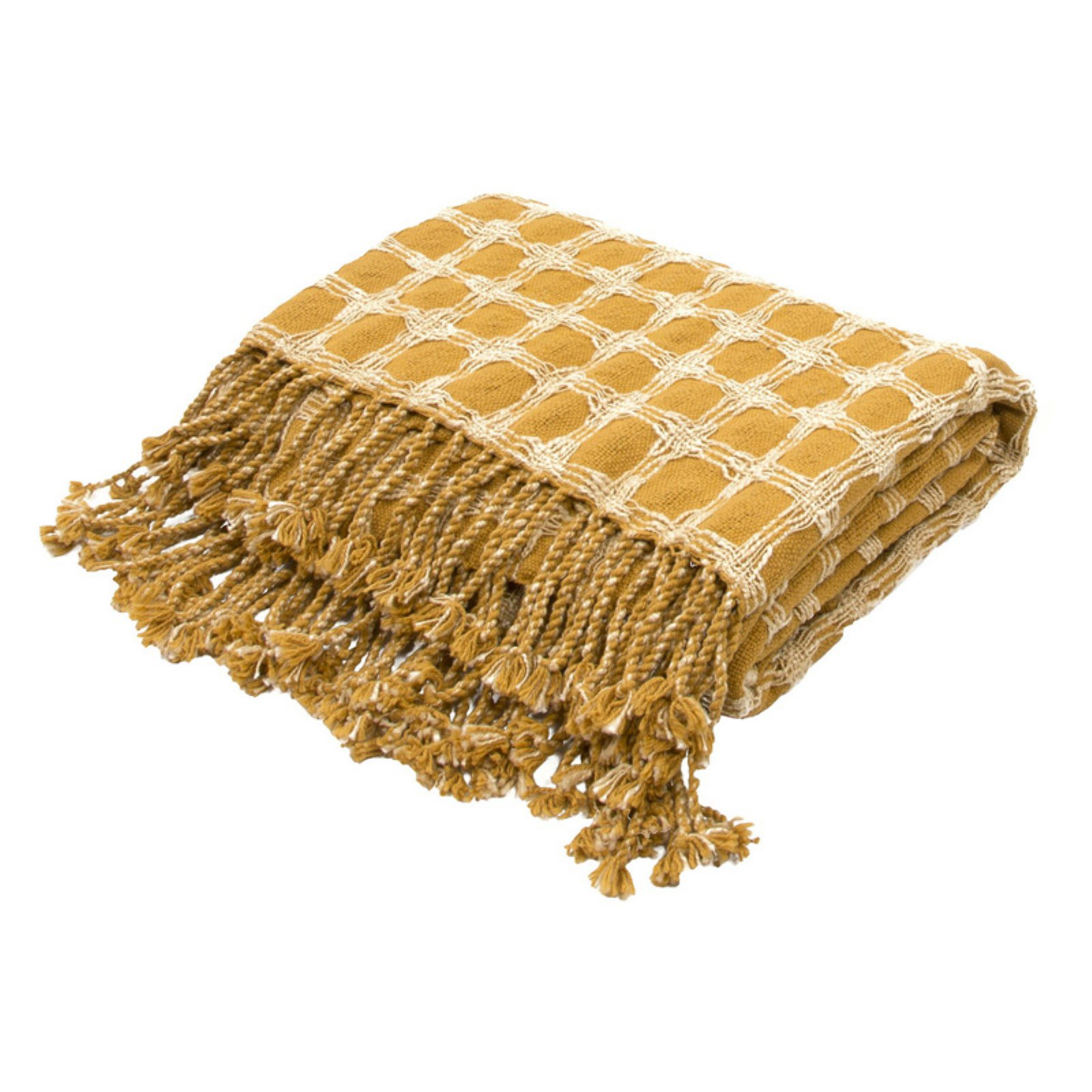 Jaipur Cache Geometric Cotton Throw