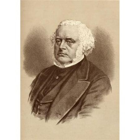 Posterazzi DPI1857315 John Bright 1811-1889. British Statesman & Orator Poster Print, 12 x 18 - image 1 of 1