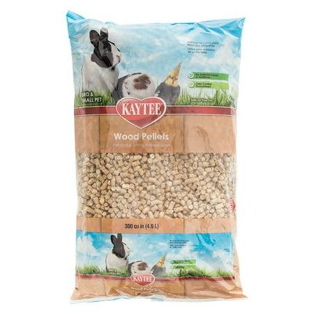 Kaytee Wood Pellets - Bird & Small Animal Bedding & Litter 8 lbs