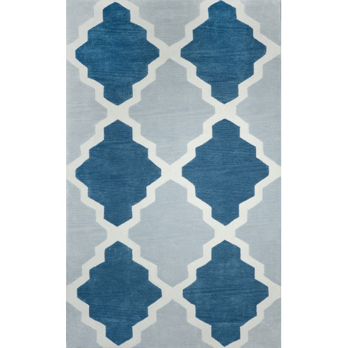 nuLOOM Cine Blue Johnathan Area Rug