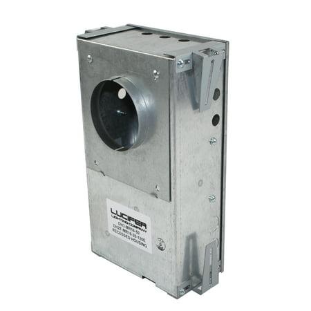 - Lucifer Lighting MR16 Low Voltage Recessed Downlight Housing Z Flange 120V 60 Hz 20W