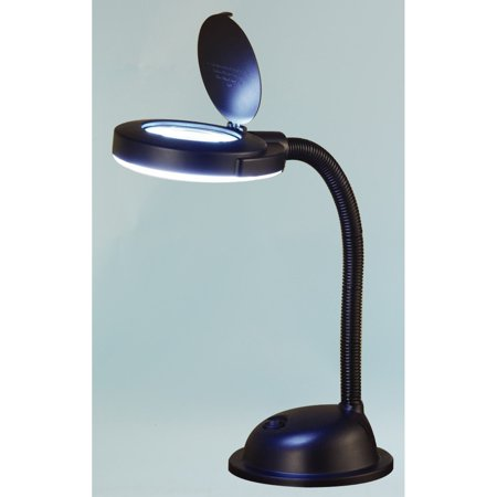 Normande Lighting 17 in. Magnifier Desk Lamp
