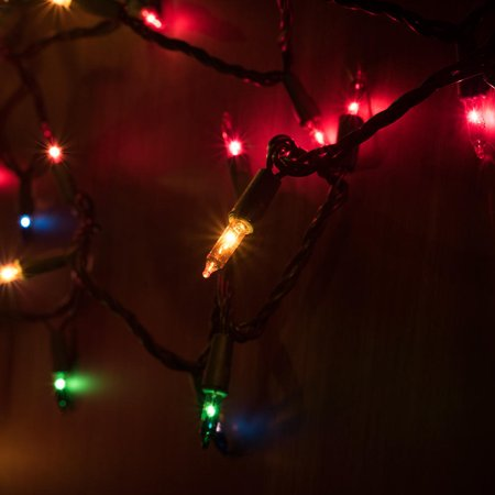 LIVEDITOR 12Ft 50 LED Multi-Colour String Lights Christmas Holiday Wedding Birthday Party - image 1 of 2