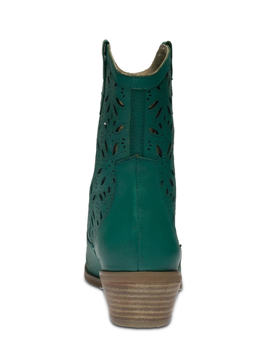 L'Artiste Elgin By Spring Step Turquoise Leather Boots 37 EU / 7 US Women