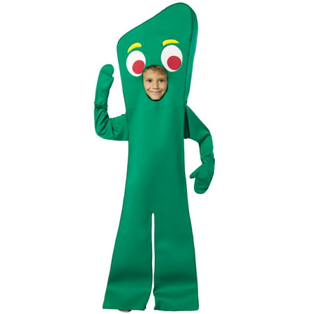 Gumby Halloween (Gumby Open Face Costume Child Child)