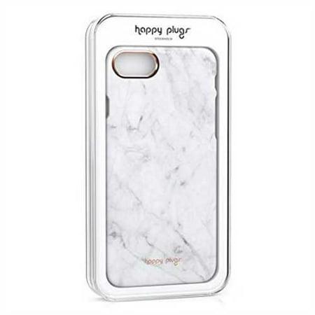 Refurbished Happy Plugs iPhone 7 Slim Case - White Marble