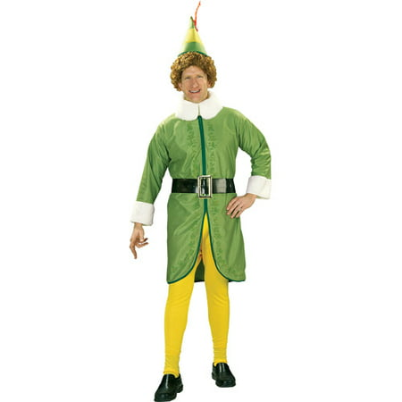 Buddy The Elf Adult Costume](Elf Costume Adults Homemade)