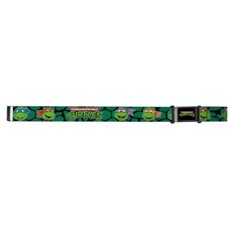 TMNT Cartoon TV Series Shell Faces Magnetic Web Belt