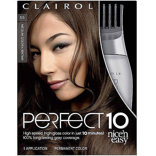 Clairol Perfect 10 by Nice 'n Easy Hair Color 1 Kit