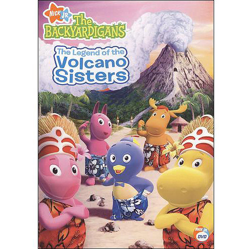 Backyardigans-legend Of The Volcano Sisters [dvd] [ff/eng Dol-nla (Paramount)