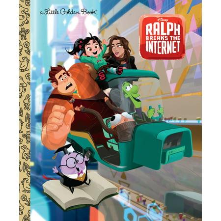 Wreck It Ralph Halloween (Wreck-It Ralph 2 Little Golden Book (Disney Wreck-It Ralph 2))