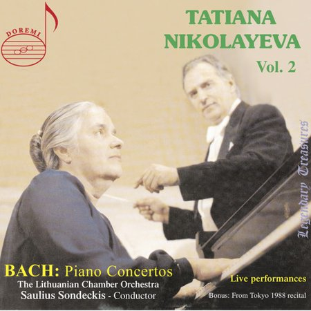 Tatiana Nikolayeva Plays Bach Piano Concertos 2