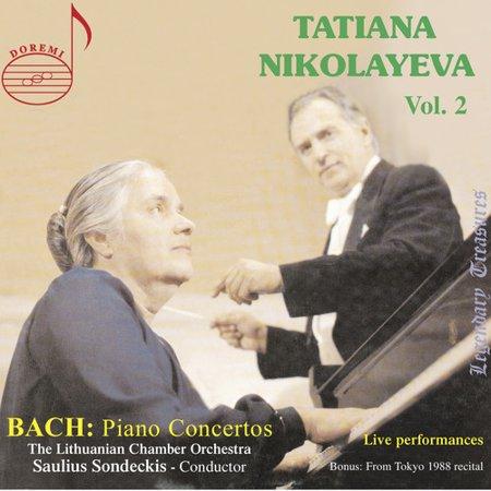 Tatiana Nikolayeva Plays Bach Piano Concertos 2 (CD) ()