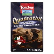 Loacker Chocolate Bite Size Wafer Cookies, 8.82 OZ (Pack of 6)