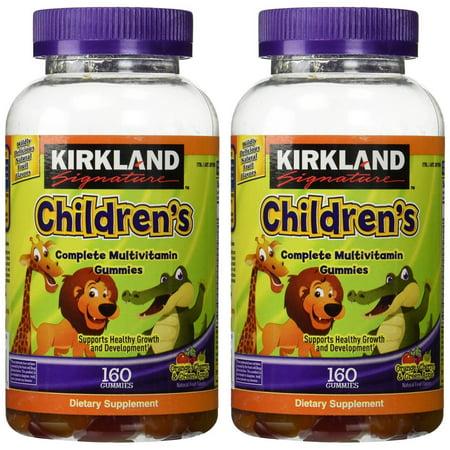 Kirkland Signaturetm Childrens Complete Multivitamin  320 Gummies