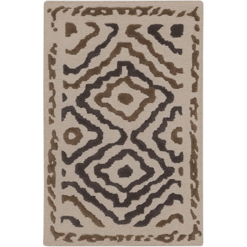 Hand-Knotted Kathryn Indoor Wool Rug (3'3 x 5'3)