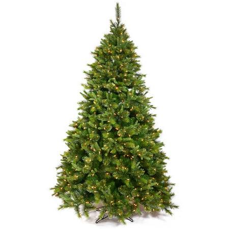 Vickerman Pre-Lit 3' Cashmere Pine Artificial Christmas Tree, LED, Warm White Lights ()
